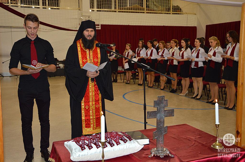 Ábel kormányzó atya tartotta a szertartást