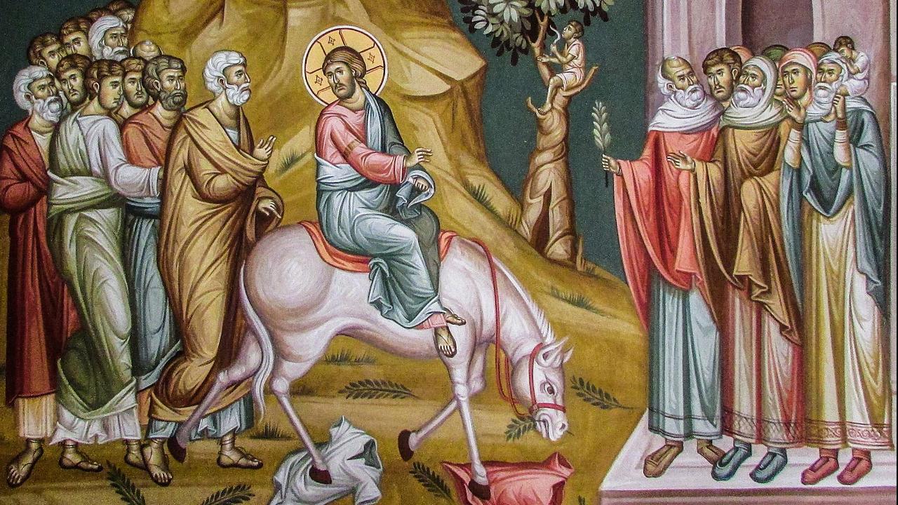 Virágvasárnap a Nagyhét ünnepélyes megnyitása   Nyíregyházi Egyházmegye    görögkatolikus egyház