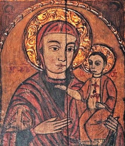 Az első pócsi könnyező Mária-ikon